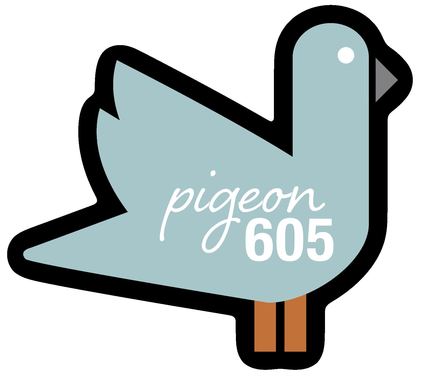 Pigeon 605 logo